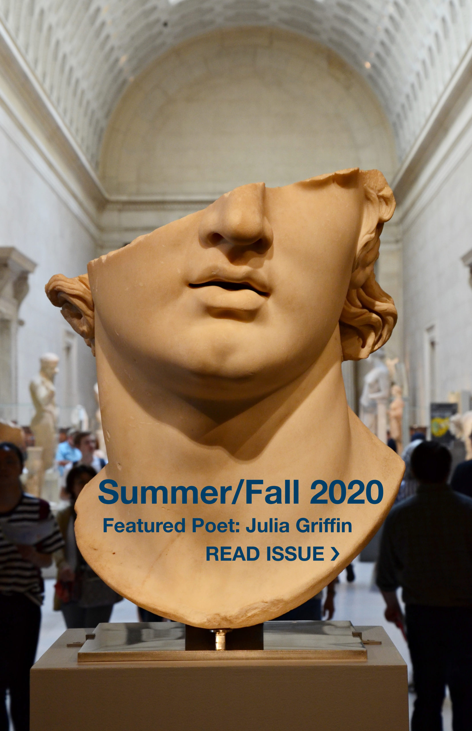 Summer/Fall 2020 - Featured Poet Julia Griffin